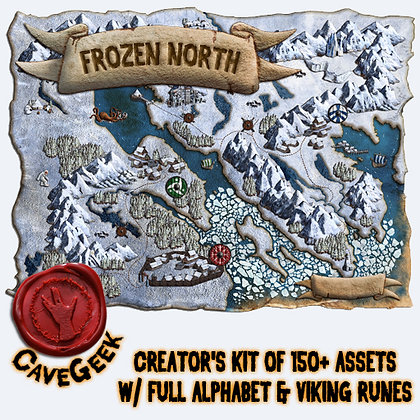 DIGITAL - Frozen North Digital Map Pack