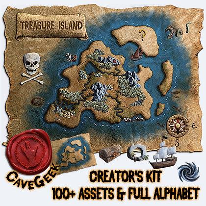 DIGITAL - Treasure Island Digital Asset Pack