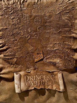 Princess Bride Map Giclée Reproduction