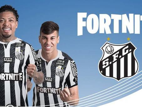 Fortnite será el sponsor principal de Santos en la final de la Copa Libertadores 2021