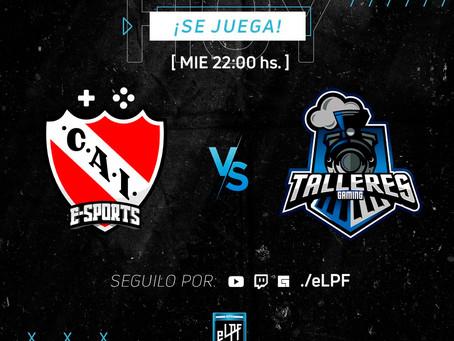 eLPF: Independiente logró un empate positivo contra Talleres