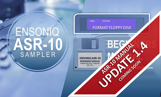 ASR-10 Beginners Manual Course Image Upd