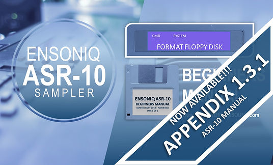 ASR-10 Beginners Manual Course Image - W
