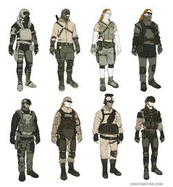 military costume design