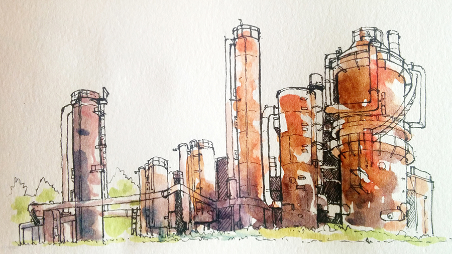 gas works park S