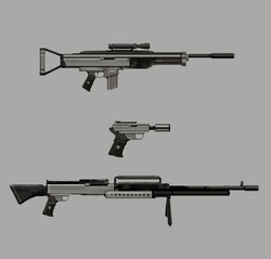 square guns