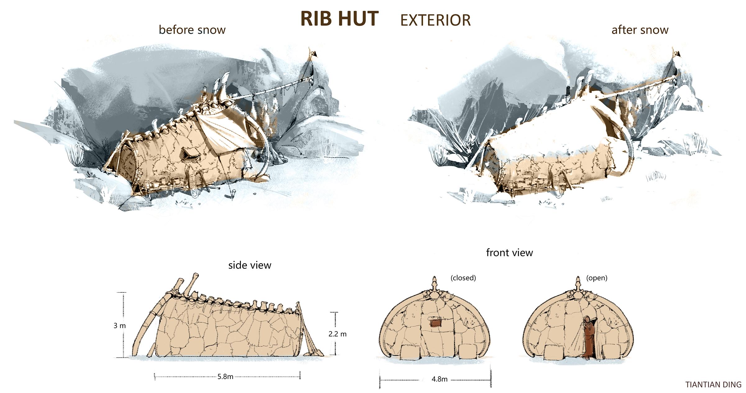 hut  exterior s