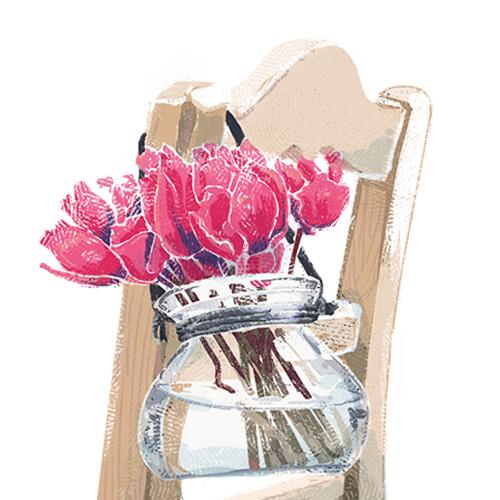 pink flower 500