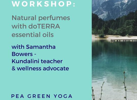 Essential Oils workshop with Sam