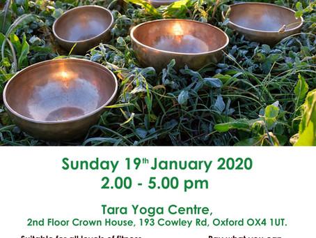 Sunday afternoon Kundalini Yoga and Healing Sound bath