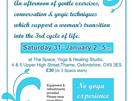 Yoga for the menopause