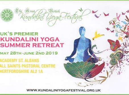 GB Kundalini Yoga Festival 2019