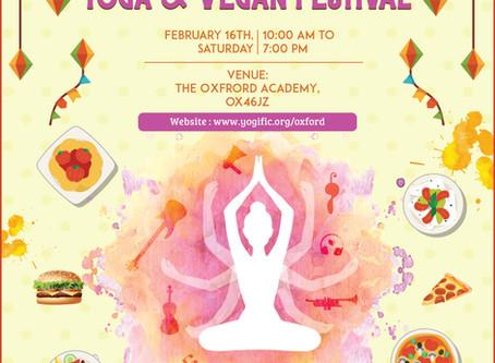 Kundalini Class at Oxford Yoga festival