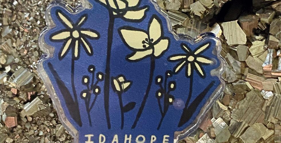 Wildflower Pin