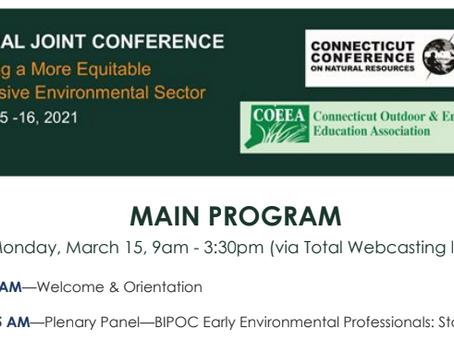 CCNR-COEEA Conference March 15-16