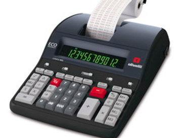 Calcolatrice logos 902 professionale 12 cifre e 2 colori 4 operazioni base