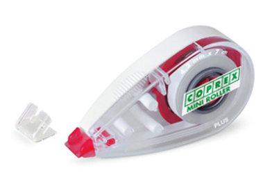 Correttore a nastro mini roller - 4,2mm x 7mt - chiusura salva nastro - coprex