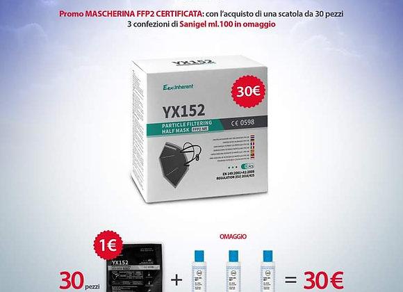 MASCHERINA FFP2 NERA
