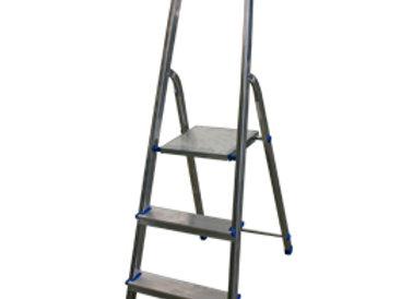 Scala Alluminio domestica 3 gradini stella basic