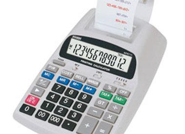Calcolatrice da tavolo scrivente aurora npr711 12cifre