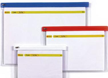 Busta a zip zip bag a5 colorata 18x26.8cm