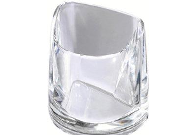 Portapenne nimbus trasparente cristallo rexel