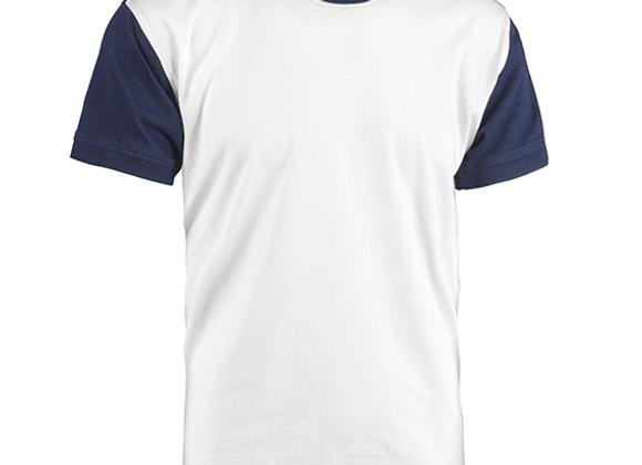 T-Shirt COLLEGE girocollo bicolore