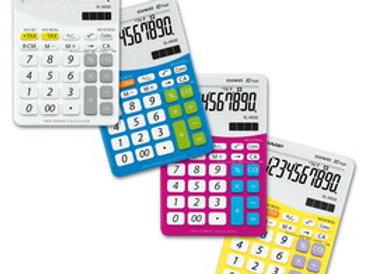 Calcolatrice el m332b 10 cifre da tavolo sharp colore rosa