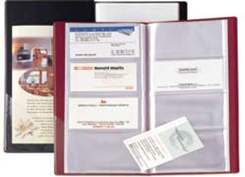 Portabiglietti da visita eco visita-16 blu 12.5x27.5cm