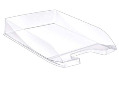 Vaschetta portacorrispondenza ecoline - 35x25,5x6,5 cm - 24x32 cm - cristallo tr