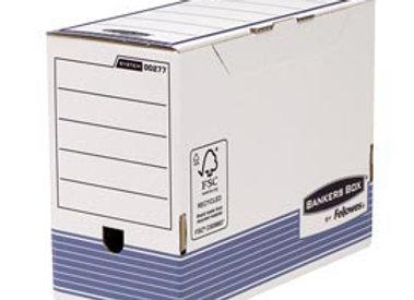 Scatola archivio bankers box system - a4 - dorso 15 CF. 10 PZ.- fellowes