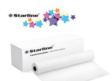 Carta plotter 420mmx50m 80gr inkjet starline