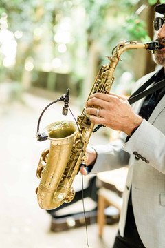 Saxofone player