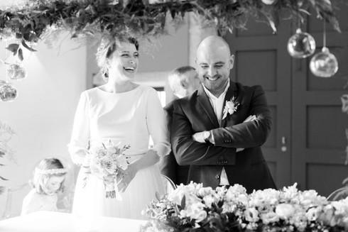 T & G . bride & groom