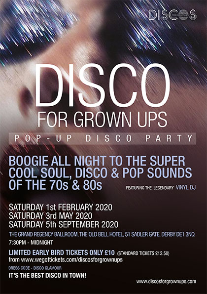 Best Ups 2020.Disco For Grown Ups Pop Up 70s 80s Disco