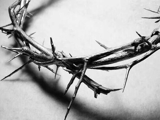 I've Driven Deep the Thorny Crown into the Soul of Someone's Son: Wrath Owed to Me Given to Christ