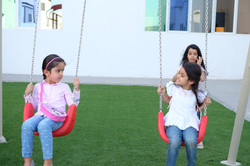 Swing Time int he Playground