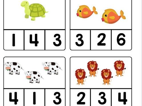 Count and Circle 1-10