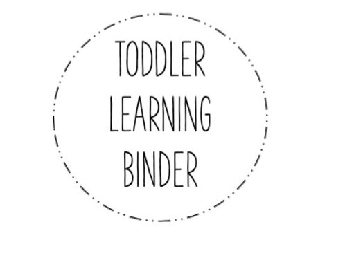 Toddler Learning Pages