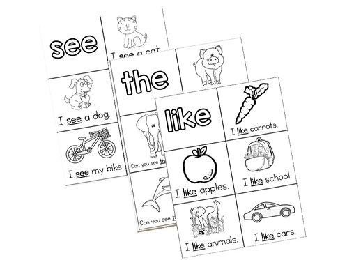 Sight Word Activities
