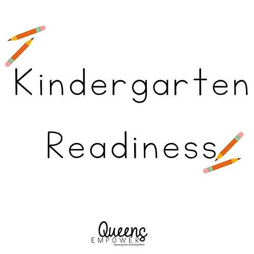 Kindergarten Readiness Binder
