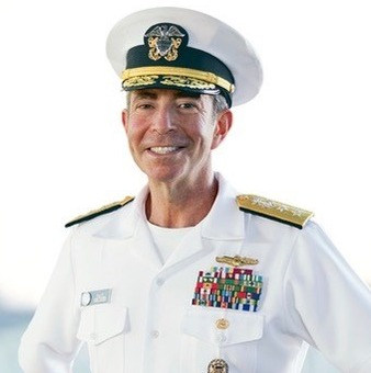 Paul Becker, Rear Admiral US Navy, (Ret); Founder, The Becker T3 Group, and a Stage IV Bone Marrow Cancer Survivor