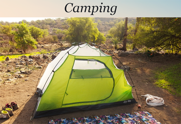 Golan Heights camping