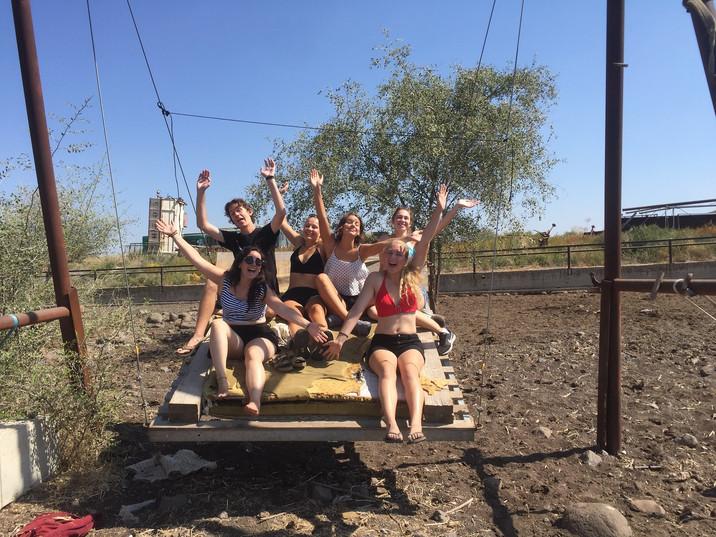 Golan Heights hostel volunteer