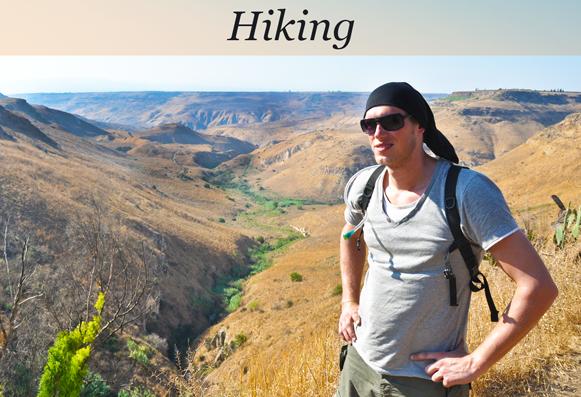 Golan Heights Hiking