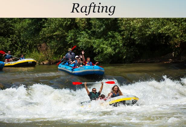 Golan Heights rafting