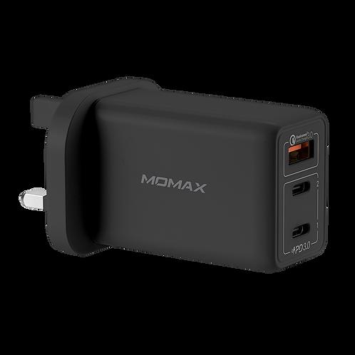 One Plug 3-USB 智能GaN快速充電器65W