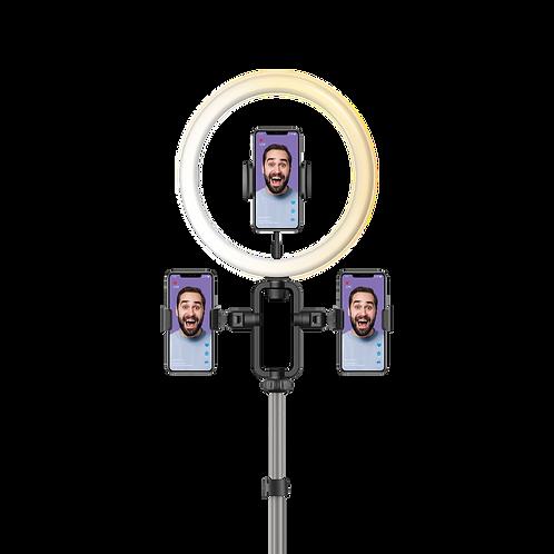 V. Log 直播三腳支架 + 直播補光燈 12寸 套裝