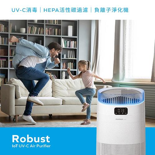 Robust IoT 智能紫外光負離子空氣淨化機 AP8