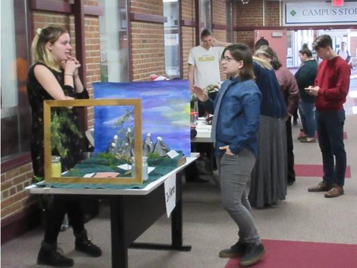 Creative Writing Students showcase Writing Books